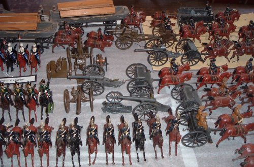 Model Soldiers #2006 156 1 et seq  – Carleton County Historical Society